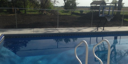Adjustable Fence Pool Chain Link Fence